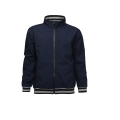 Mens ribben Poly Windbreaker jakke